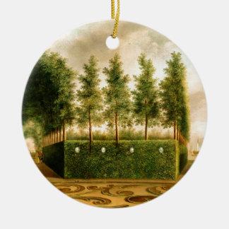 ヨハネスJanson幾何学的配置庭園の18世紀の芸術 セラミックオーナメント