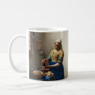 ヨハネスVermeerのMilkmaid コーヒーマグカップ