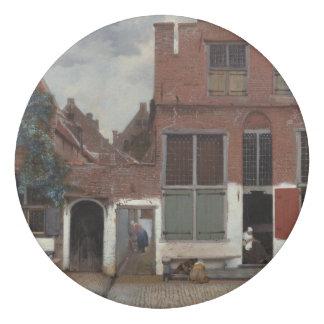 ヨハネスVermeer著デルフトの家の眺め 消しゴム