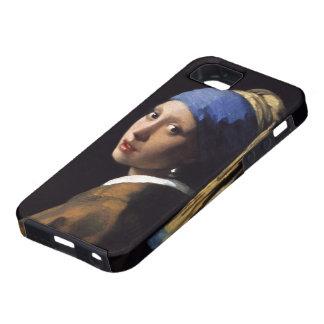 ヨハネスVermeer著真珠のイヤリングを持つ女の子 iPhone SE/5/5s ケース