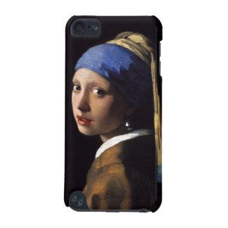 ヨハネスVermeer著真珠のイヤリングを持つ女の子 iPod Touch 5G ケース