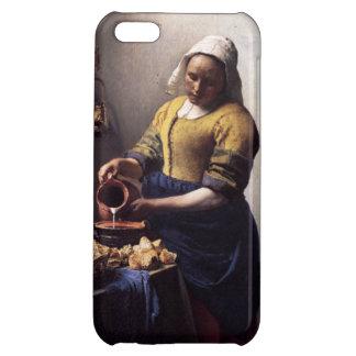 ヨハネスVermeer著Milkmaid iPhone5Cケース
