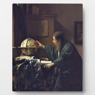 ヨハネスVermeer -天文学者の絵画 フォトプラーク