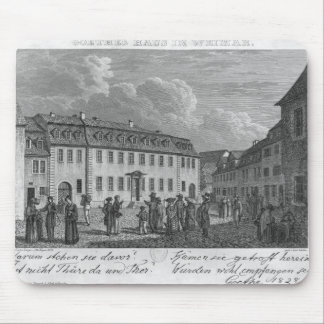 ヨハンウォルフガングフォンGoetheの家 マウスパッド