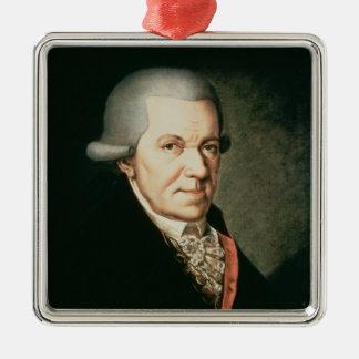 ヨハンミヒャエル・ハイドンの作曲家の兄弟 メタルオーナメント