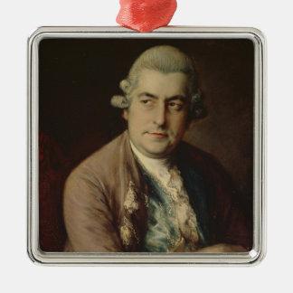 ヨハン・クリスティアン・バッハ1776年 メタルオーナメント