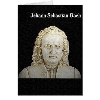 ヨハン・ゼバスティアン・バッハの挨拶状 カード