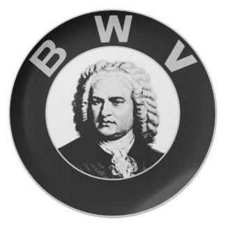 ヨハン・ゼバスティアン・バッハ- Bach Werke Verzeichnis プレート