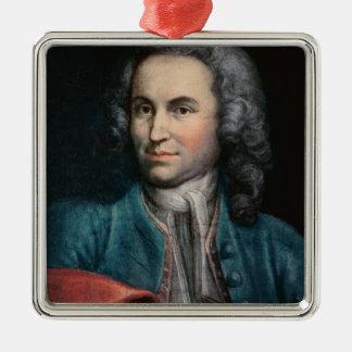 ヨハン・ゼバスティアン・バッハc.1715 メタルオーナメント