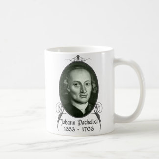 ヨハン・パッヘルベル コーヒーマグカップ