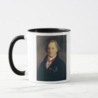 ヨハン・ヴォルフガング・フォン・ゲーテのポートレート マグカップ