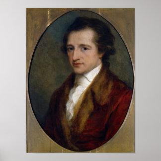 ヨハン・ヴォルフガング・フォン・ゲーテ1775年 ポスター