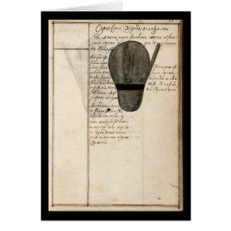 ヨハンGrasshoff 1620のプレート9による錬金術のノート カード