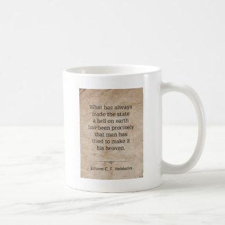 ヨハンHolderlin コーヒーマグカップ