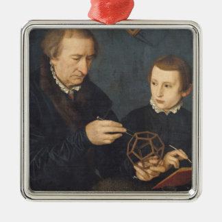 ヨハンI Neudorferおよび彼の息子1561年 メタルオーナメント