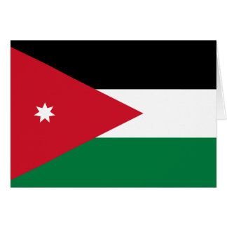 ヨルダンの旗 カード