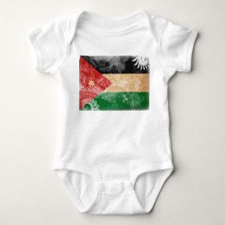 ヨルダンの旗 ベビーボディスーツ