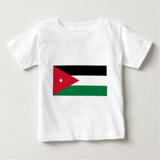 ヨルダンの旗 ベビーTシャツ