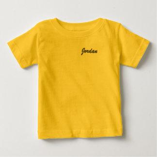 ヨルダンの赤ん坊の罰金のジャージーのTシャツ ベビーTシャツ