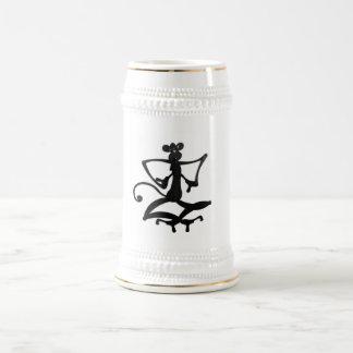 ヨーガ行者猿のマグ ビールジョッキ