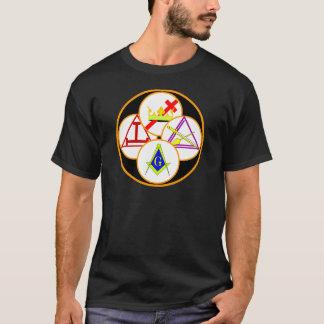ヨークの儀式の石大工 Tシャツ