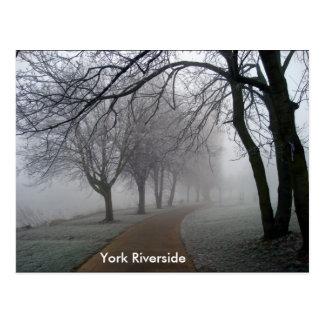 ヨークの川岸 ポストカード