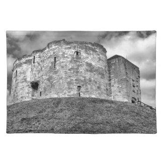 ヨークの歴史的建物のCliffordのタワー ランチョンマット