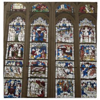 ヨークの牧師の素晴らしい東の窓 ナプキンクロス