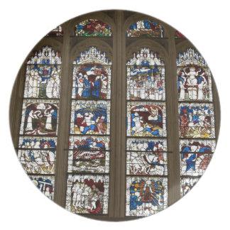 ヨークの牧師の素晴らしい東の窓 プレート