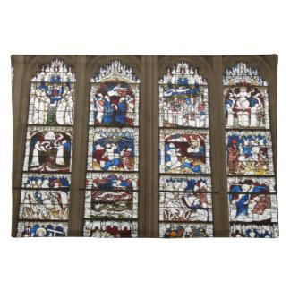 ヨークの牧師の素晴らしい東の窓 ランチョンマット