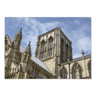 ヨークの牧師、ヨークシャ、イギリスの招待状 カード