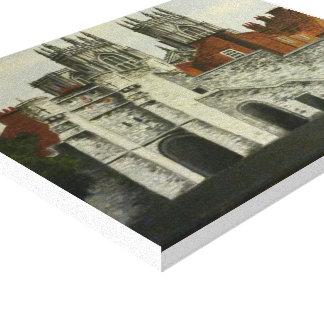 ヨークの眺めの絵画 キャンバスプリント