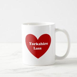 ヨークシャの少女 コーヒーマグカップ