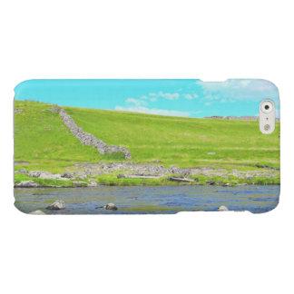 ヨークシャの谷の青空 光沢iPhone 6ケース