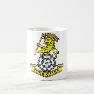 ヨークシャの連隊 コーヒーマグカップ