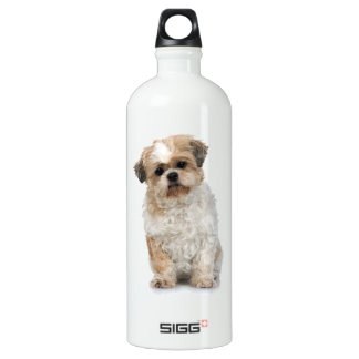 ヨークシャテリアの子犬 ウォーターボトル