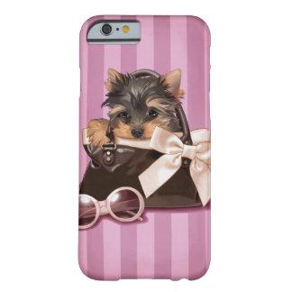 ヨークシャテリアの子犬 BARELY THERE iPhone 6 ケース
