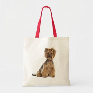 ヨークシャテリアの小犬愛ヨークシャーテリア トートバッグ