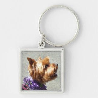 ヨークシャテリア犬 キーホルダー