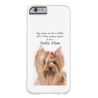 ヨークシャーテリアのお母さんのiPhone6ケース Barely There iPhone 6 ケース