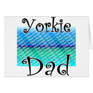 ヨークシャーテリアのパパ カード