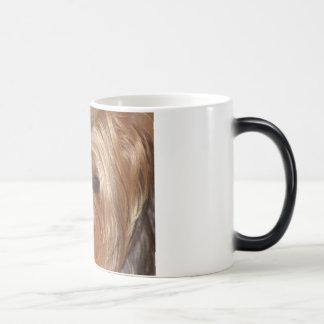 ヨークシャーテリアのマグ モーフィングマグカップ