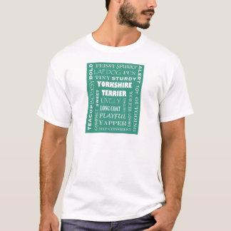 ヨークシャーテリアの質 Tシャツ