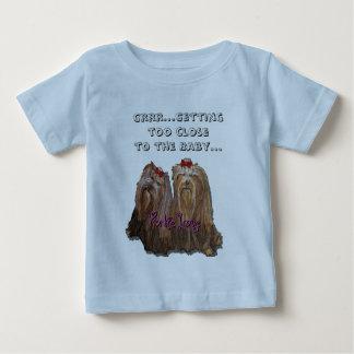 ヨークシャーテリア愛コレクション ベビーTシャツ