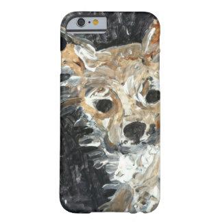 ヨークシャーテリア犬の絵画 BARELY THERE iPhone 6 ケース