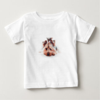 ヨークシャーテリア犬 ベビーTシャツ