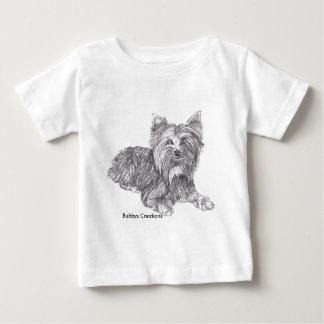 ヨークシャーテリア ベビーTシャツ