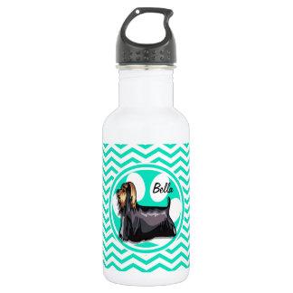 ヨークシャーテリア; 水緑のシェブロン ウォーターボトル
