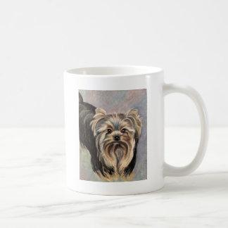 ヨークシャーテリアAbbyを示して下さい コーヒーマグカップ