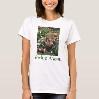 ヨークシャTerierのTシャツの庭 Tシャツ